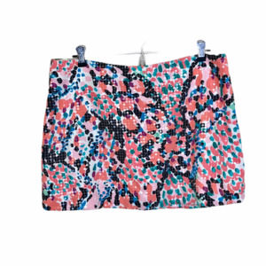 Lilly Pulitzer Tate Sequin Mini Skirt Size 8